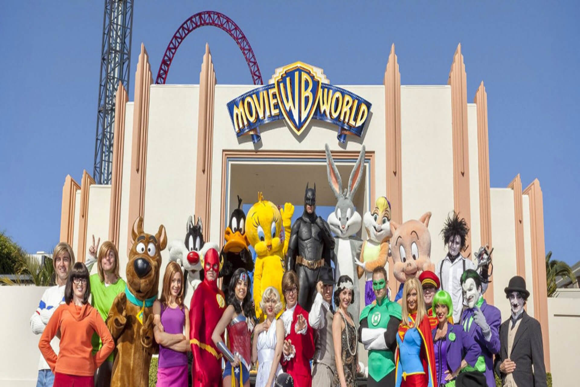 Movie World Theme Park Australia