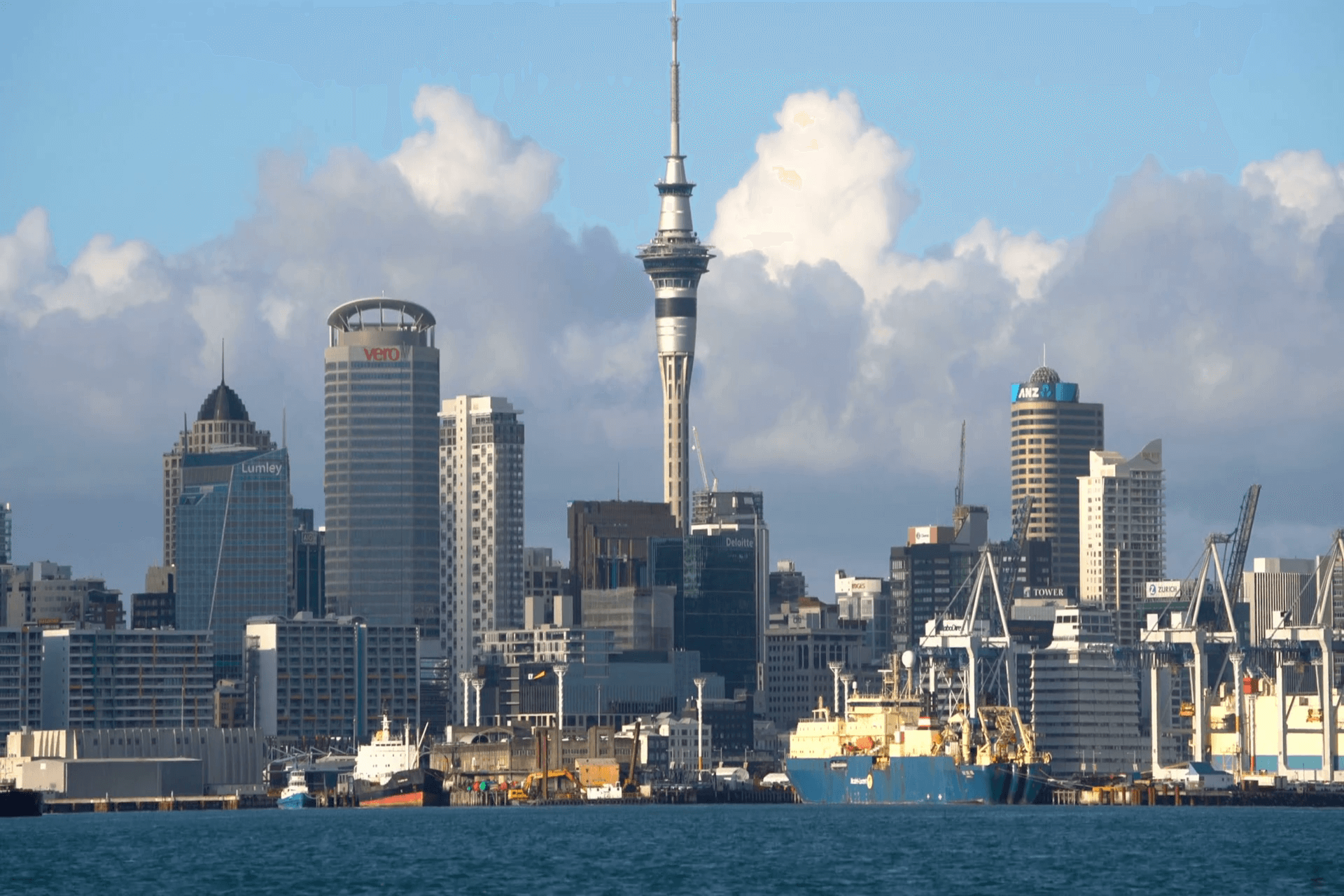 sky tower Auckland city